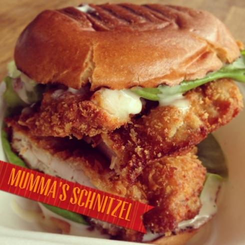 schnitzel burger